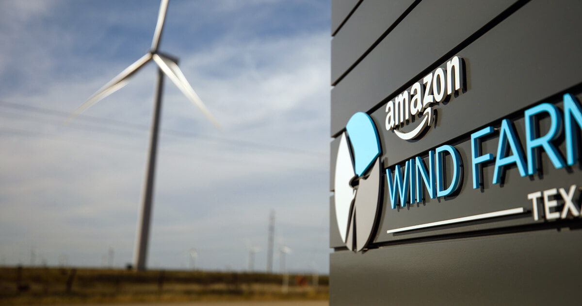 amazon windfarm